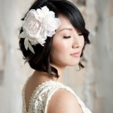 Mariage cheveux courts