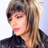 Model de coiffure cheveux mi long