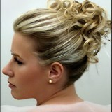 Photo chignon cheveux mi long