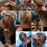 Tresse cheveux long