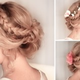 Tuto coiffure simple cheveux long