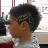 Coiffure homme dessin