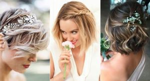 Coiffure mariage cheveux courts 2019