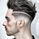 Coupe cheveux homme stylé