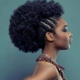 Coiffure cheveux africain