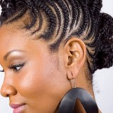 Coiffure nattes africaine