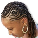Tresse cheveux africaine