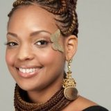 Coiffure tresse africaine photo