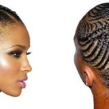 Coupe natte africaine