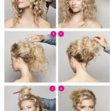 Idee coiffure boucle