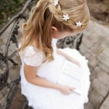 Coiffure mariage petite fille 2 ans
