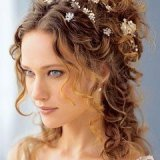 Coiffure mariage simple cheveux long