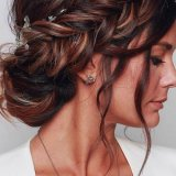 Coiffure femme mariage 2020
