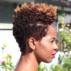 Coiffure africaine cheveux courts