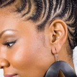 Coiffure africaine natte