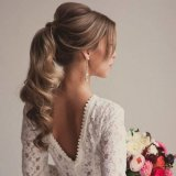 Coiffure boucle mariage
