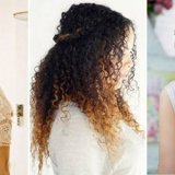 Coiffure cheveux lisse mariage