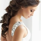 Coiffure long cheveux mariage