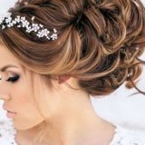 Diademe mariage cheveux courts