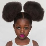 Coiffure cheveux afro