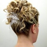 Idee coiffure cheveux court pour soiree