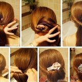 Technique de chignon