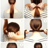 Chignon simple a faire