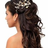 Coiffure femme mariage cheveux long