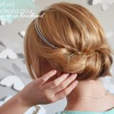 Coiffure simple chignon