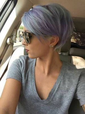 Coupe cheveux court moderne