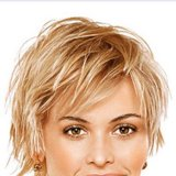 Coupe courte femme degradee