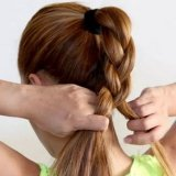 Les chignon simple