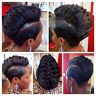Nouvelle coiffure afro americaine