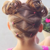 Coiffure petite fille mariage cheveux court