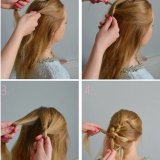 Coiffure simple à faire