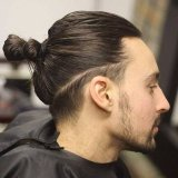 Coupe homme cheveux long degrade