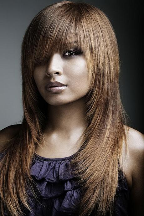 Coupe de cheveux long fille