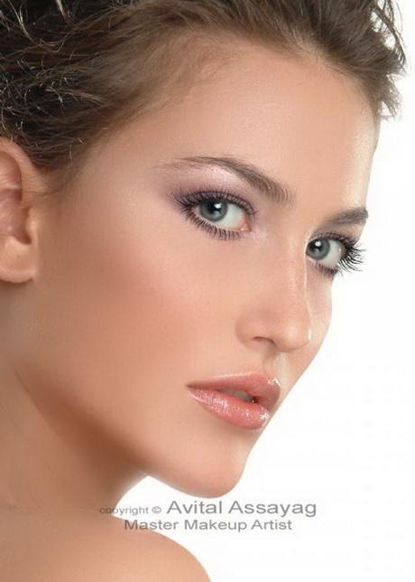 Maquillage mariage Brune