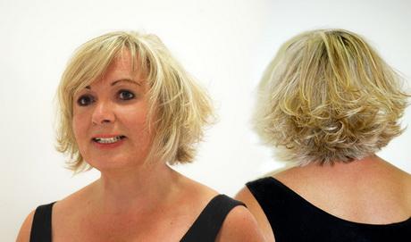 Nouvelle coupe de cheveux pour femme