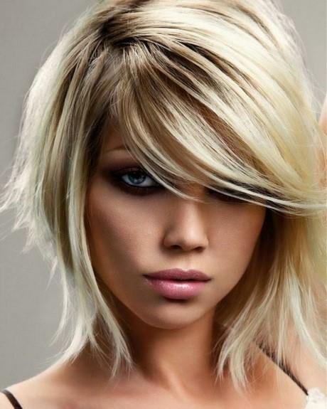 Cheveux carré plongeant