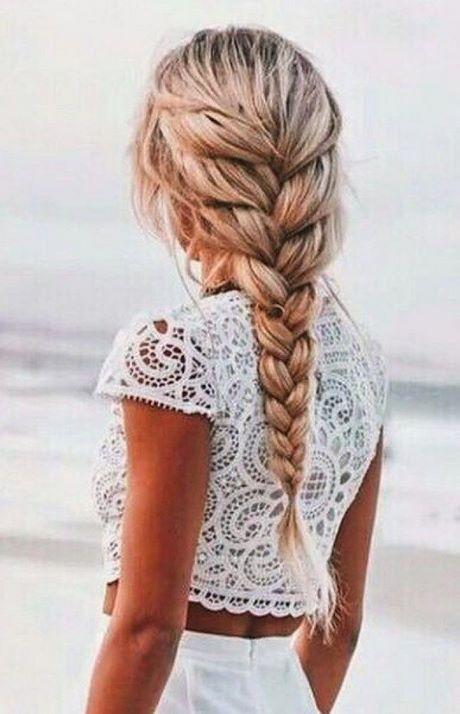 Chignon cheveux long epais
