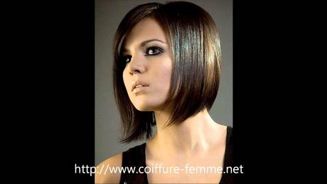 Modele coupe de cheveux carré plongeant