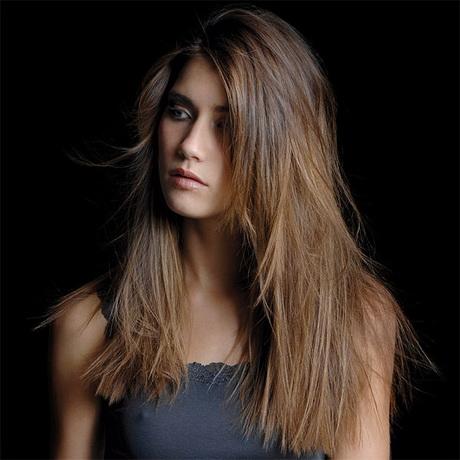 Modele coupe de cheveux long femme