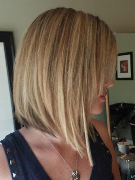 Modele de coupe de cheveux carre plongeant