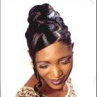 Coiffure africaine pour mariage