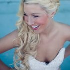 Coiffure boucles mariage