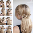 Tuto coiffure cheveux long