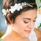 Coiffure mariage 2015 cheveux courts