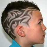 Coupe tribal homme