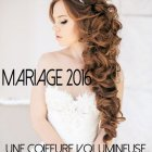 Coiffure lachée mariage